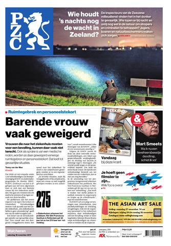 Provinciale Zeeuwse Courant 2017-11-18