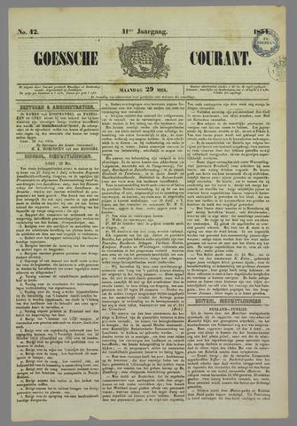 Goessche Courant 1854-05-29