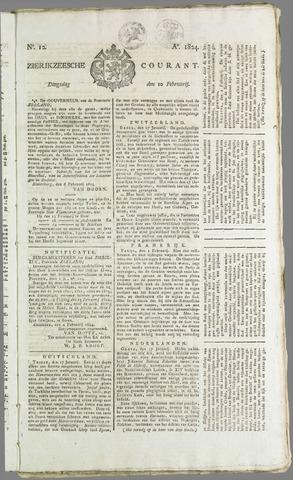 Zierikzeesche Courant 1824-02-10