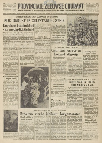 Provinciale Zeeuwse Courant 1961-10-02
