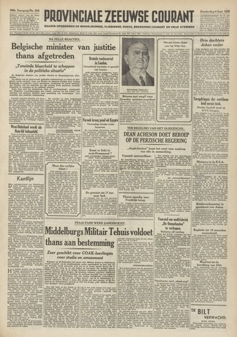 Provinciale Zeeuwse Courant 1952-09-04