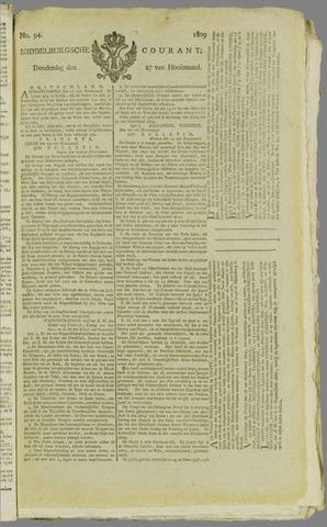 Middelburgsche Courant 1809-07-27