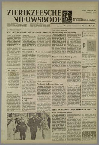 Zierikzeesche Nieuwsbode 1963-02-08