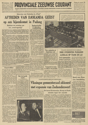 Provinciale Zeeuwse Courant 1958-01-31