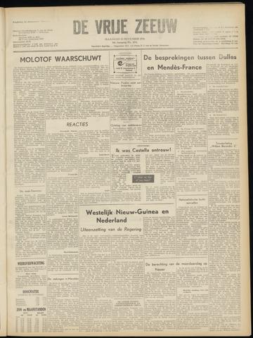 de Vrije Zeeuw 1954-11-22