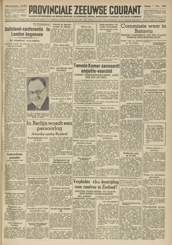 Provinciale Zeeuwse Courant 1947-11-07
