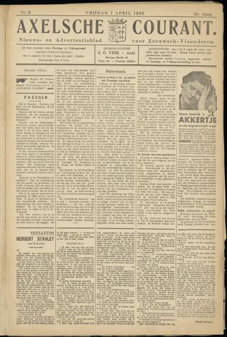 Axelsche Courant 1939-04-07