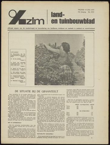 Zeeuwsch landbouwblad ... ZLM land- en tuinbouwblad 1970-07-08