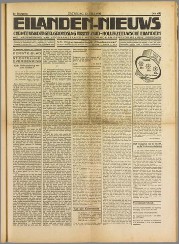 Eilanden-nieuws. Christelijk streekblad op gereformeerde grondslag 1935-07-13