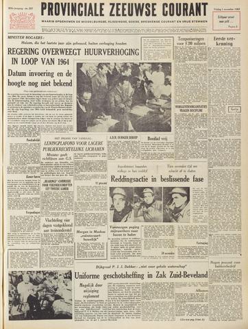 Provinciale Zeeuwse Courant 1963-11-01