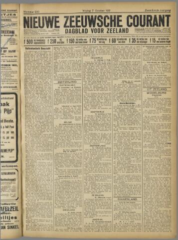 Nieuwe Zeeuwsche Courant 1921-10-07