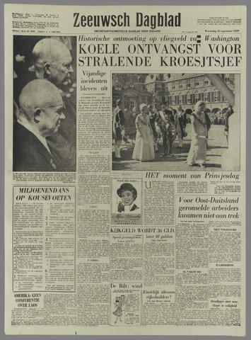 Zeeuwsch Dagblad 1959-09-16