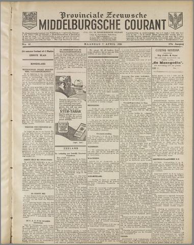 Middelburgsche Courant 1930-04-07