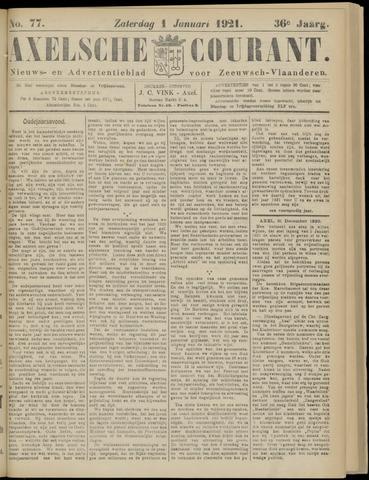 Axelsche Courant 1921