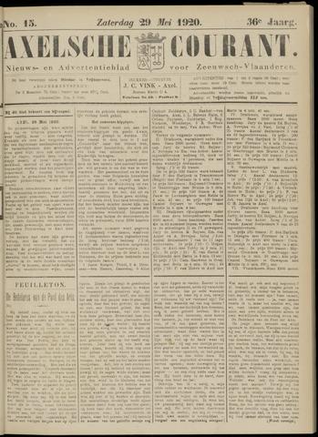Axelsche Courant 1920-05-29
