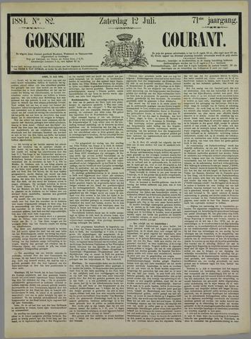 Goessche Courant 1884-07-12