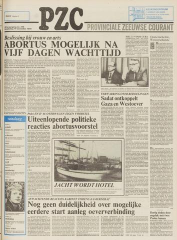 Provinciale Zeeuwse Courant 1978-11-16
