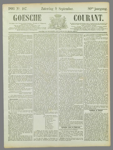 Goessche Courant 1893-09-09