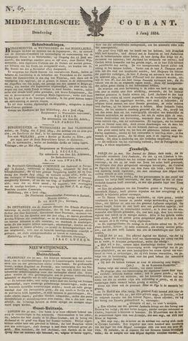 Middelburgsche Courant 1834-06-05
