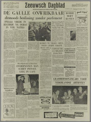 Zeeuwsch Dagblad 1960-10-24