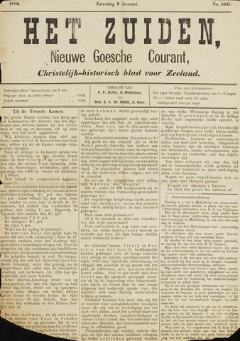 Het Zuiden, Christelijk-historisch blad 1886-01-09