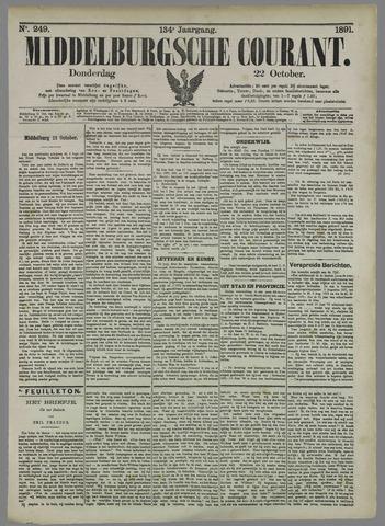 Middelburgsche Courant 1891-10-22