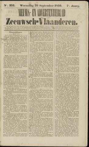 Ter Neuzensche Courant. Algemeen Nieuws- en Advertentieblad voor Zeeuwsch-Vlaanderen / Neuzensche Courant ... (idem) / (Algemeen) nieuws en advertentieblad voor Zeeuwsch-Vlaanderen 1860-09-26