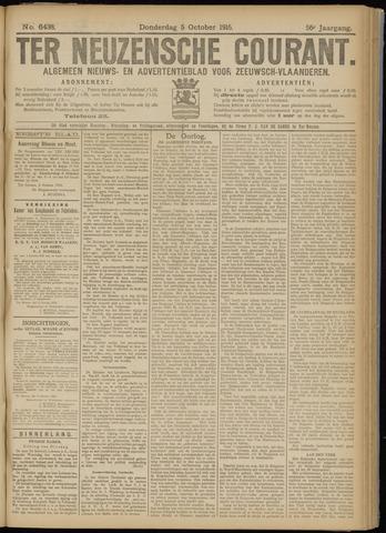 Ter Neuzensche Courant. Algemeen Nieuws- en Advertentieblad voor Zeeuwsch-Vlaanderen / Neuzensche Courant ... (idem) / (Algemeen) nieuws en advertentieblad voor Zeeuwsch-Vlaanderen 1916-10-05