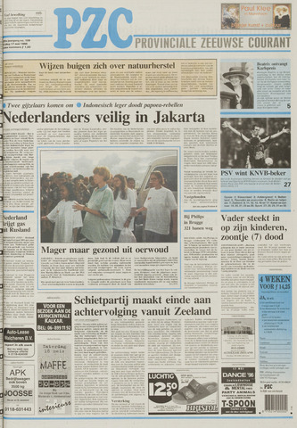 Provinciale Zeeuwse Courant 1996-05-17