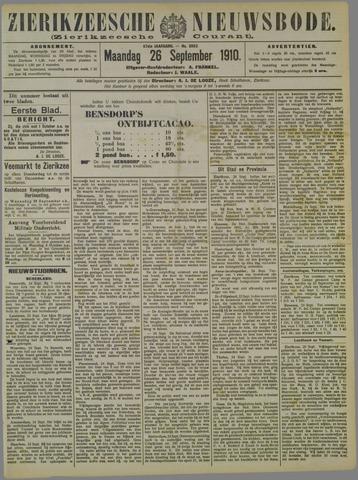 Zierikzeesche Nieuwsbode 1910-09-26