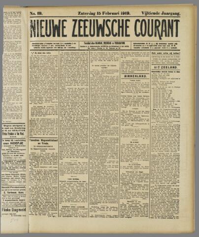 Nieuwe Zeeuwsche Courant 1919-02-15
