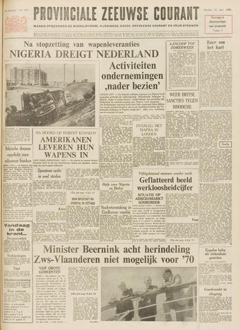 Provinciale Zeeuwse Courant 1968-06-11