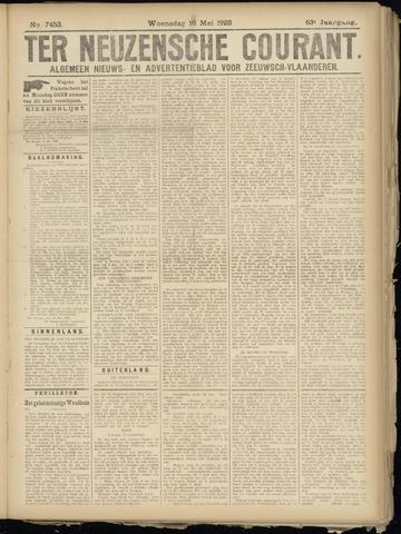 Ter Neuzensche Courant. Algemeen Nieuws- en Advertentieblad voor Zeeuwsch-Vlaanderen / Neuzensche Courant ... (idem) / (Algemeen) nieuws en advertentieblad voor Zeeuwsch-Vlaanderen 1923-05-16