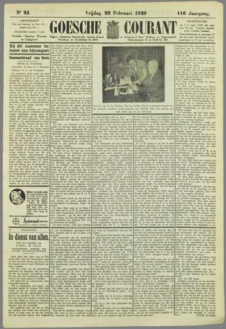 Goessche Courant 1929-02-22