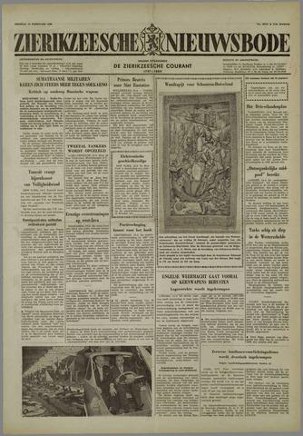 Zierikzeesche Nieuwsbode 1958-02-14