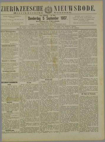 Zierikzeesche Nieuwsbode 1907-09-05