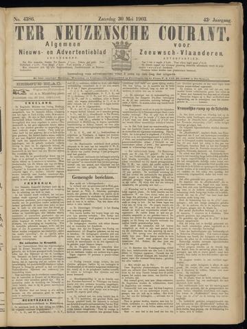 Ter Neuzensche Courant. Algemeen Nieuws- en Advertentieblad voor Zeeuwsch-Vlaanderen / Neuzensche Courant ... (idem) / (Algemeen) nieuws en advertentieblad voor Zeeuwsch-Vlaanderen 1903-05-30