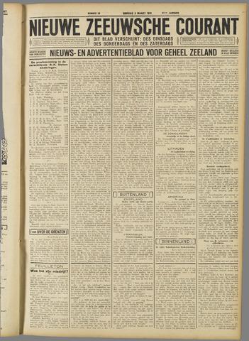 Nieuwe Zeeuwsche Courant 1931-03-03