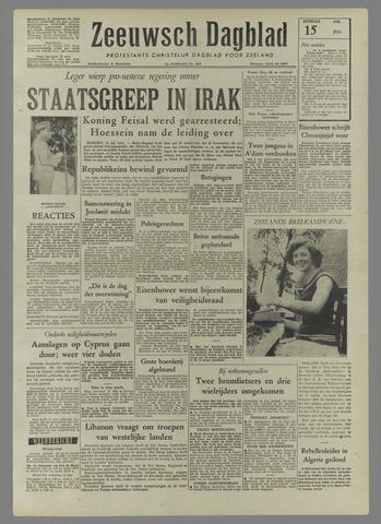 Zeeuwsch Dagblad 1958-07-15