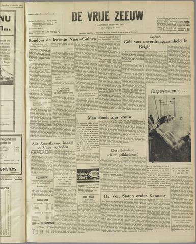 de Vrije Zeeuw 1962-02-05