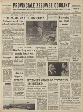 Provinciale Zeeuwse Courant 1962-12-01