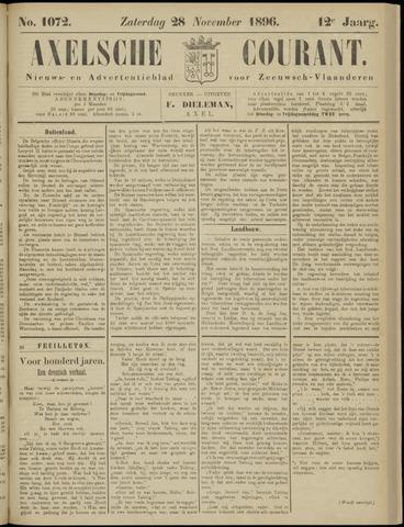 Axelsche Courant 1896-11-28