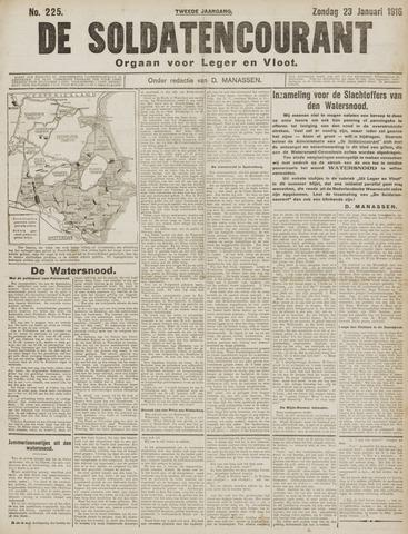 De Soldatencourant. Orgaan voor Leger en Vloot 1916-01-23
