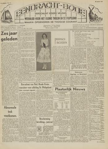 Eendrachtbode (1945-heden)/Mededeelingenblad voor het eiland Tholen (1944/45) 1959-01-30