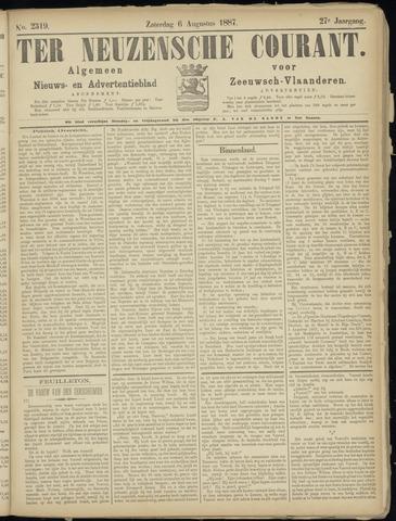 Ter Neuzensche Courant. Algemeen Nieuws- en Advertentieblad voor Zeeuwsch-Vlaanderen / Neuzensche Courant ... (idem) / (Algemeen) nieuws en advertentieblad voor Zeeuwsch-Vlaanderen 1887-08-06