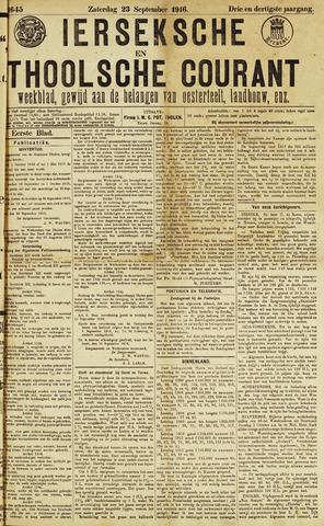 Ierseksche en Thoolsche Courant 1916-09-23