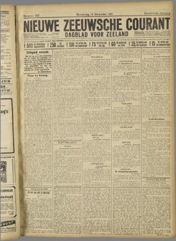 Nieuwe Zeeuwsche Courant 1921-12-15