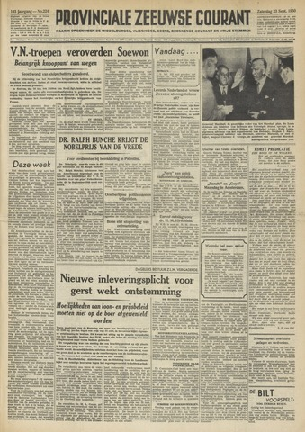 Provinciale Zeeuwse Courant 1950-09-23
