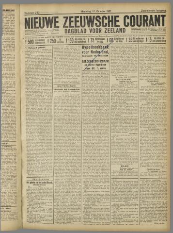 Nieuwe Zeeuwsche Courant 1921-10-10