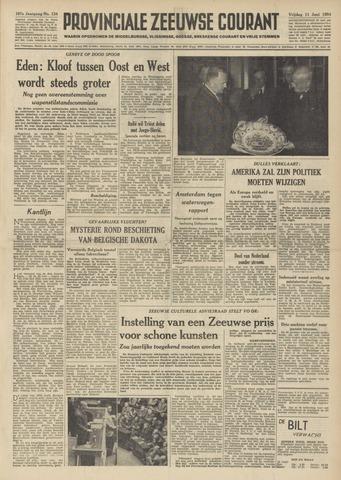 Provinciale Zeeuwse Courant 1954-06-11